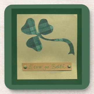 Saint Patrick's Day collage series #3 Beverage Coasters