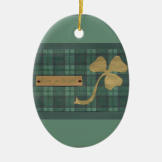 Saint Patrick's day collage series # 4 Ornament