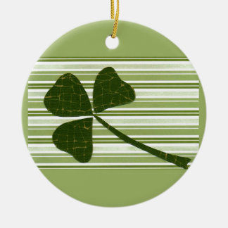 Saint Patrick's Day collage series # 5 Christmas Tree Ornaments