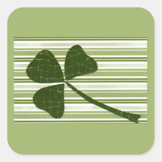 Saint Patrick's Day collage series # 5 Sticker