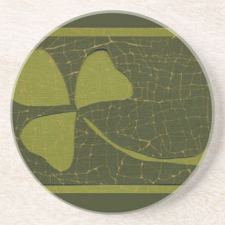 Saint Patrick's Day collage series # 6 Coasters