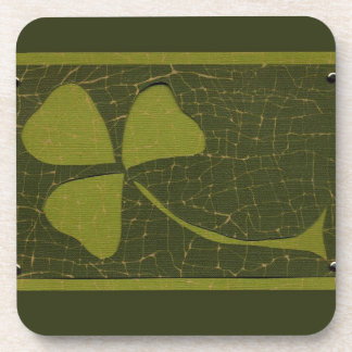 Saint Patrick's Day collage series # 6 Drink Coaster