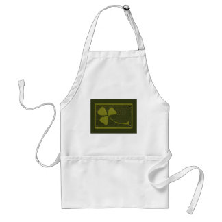 Saint Patrick's Day collage series # 6 Standard Apron