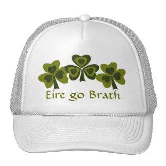 Saint Patrick's Day collage series # 8 Trucker Hat
