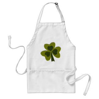 Saint Patrick's Day collage series # 8 Standard Apron