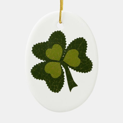 Saint Patrick's Day collage series # 9 Ornaments