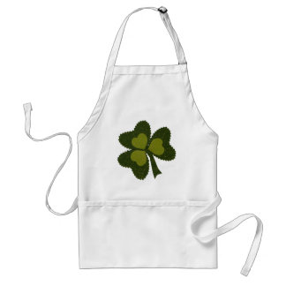 Saint Patrick's Day collage series # 9 Standard Apron