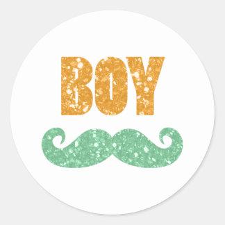 Saint Patrick's Day Gender Reveal Stickers (Boy)
