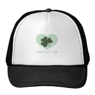 Saint Patrick's Day Heart Cap