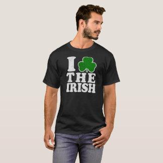 Saint Patricks Day I Love The Irish Vintage Shirt