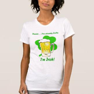 Saint Patricks Day Ladies Party T-Shirt
