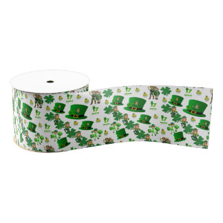 Saint Patrick's Day Ribbon Grosgrain Ribbon