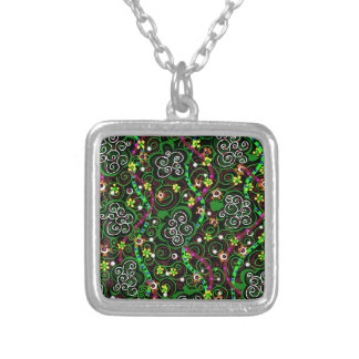 Saint Patrick's Day Silver Plated Necklace