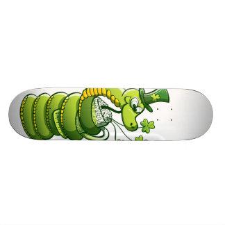Saint Patrick's Day Snake 19.7 Cm Skateboard Deck