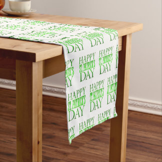 Saint Patricks Day Table Runner