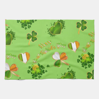 Saint Patrick's Day Tea Towel