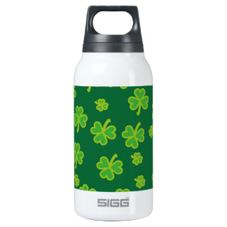 Saint Patrick's Day - Three Leaf Clovers 0.3L Insulated SIGG Thermos Water Bottle