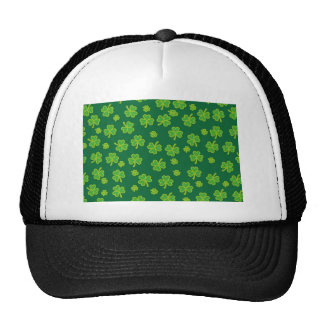 Saint Patrick's Day - Three Leaf Clovers Trucker Hats