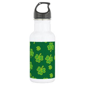 Saint Patrick's Day - Three Leaf Clovers 532 Ml Water Bottle