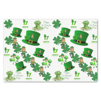 Saint Patrick's Day Tissue Paper