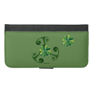 Saint Patrick's Day - Triskele *Lá Fhélie Pádraig iPhone 6/6s Plus Wallet Case