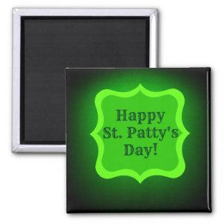 Saint Patrick's Day Wish Square Magnet