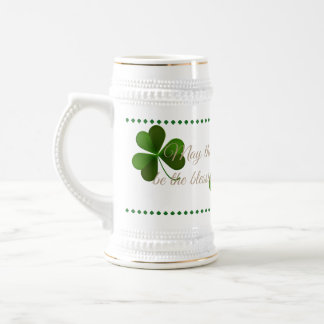 Saint Patricks Stein-May The Blessings Beer Stein