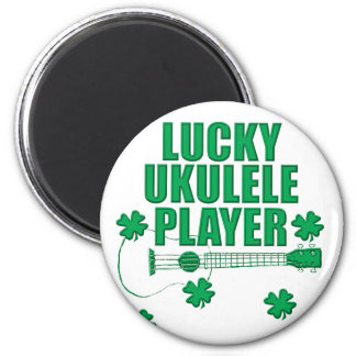 Saint Patrick's Ukulele Magnet