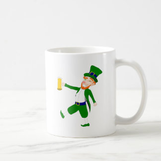 Saint Patty's Day Drunken Leprechaun Coffee Mug
