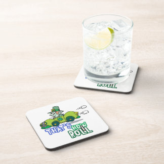 Saint Patty's Day Leprechaun Beverage Coasters