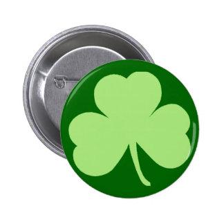 Saint Pattys Day Shamrock 6 Cm Round Badge