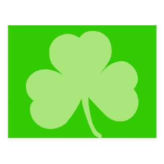 Saint Pattys Day Shamrock Postcard
