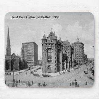 Saint Paul Cathedral Buffalo Mousepad