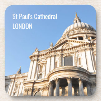 Saint Paul cathedral in London, UK Coaster