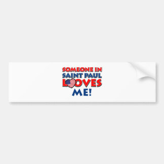 saint paul designs bumper stickers