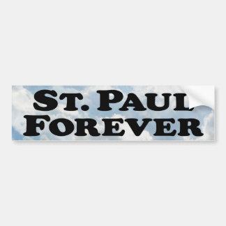 Saint Paul Forever - Basic Bumper Sticker