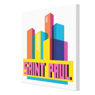 Saint Paul in Design Canvas Print