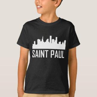 Saint Paul Minnesota City Skyline T-Shirt