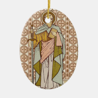 Saint Paul Rev Ceramic Ornament