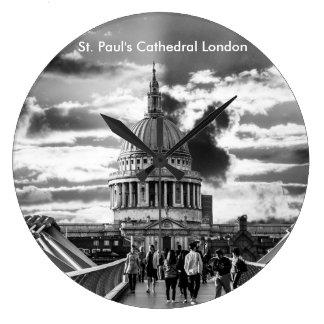 Saint Paul's Cathedral London. Clock