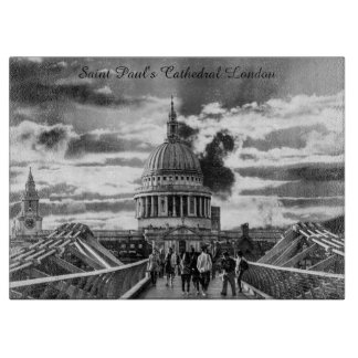 Saint Paul's Cathedral London. Cutting Board