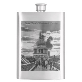 Saint Paul's Cathedral London. Hip Flask
