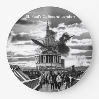 Saint Paul's Cathedral London. Large Clock