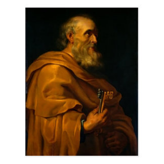 Saint Peter by Jusepe de Ribera Postcard