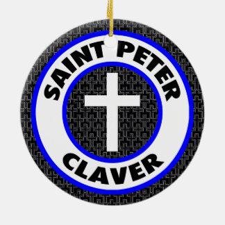 Saint Peter Claver Ceramic Ornament
