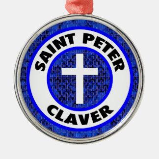 Saint Peter Claver Metal Ornament