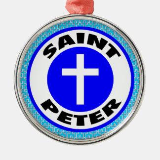 Saint Peter Metal Ornament