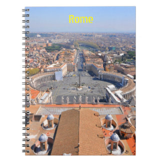 Saint Peter square in Vatican, Rome, Italy Notebook