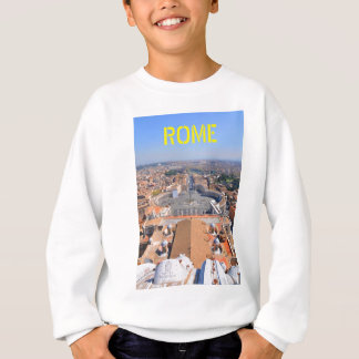 Saint Peter square in Vatican, Rome, Italy Sweatshirt