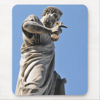 Saint Peter statue in Rome, Italy Mouse Pad